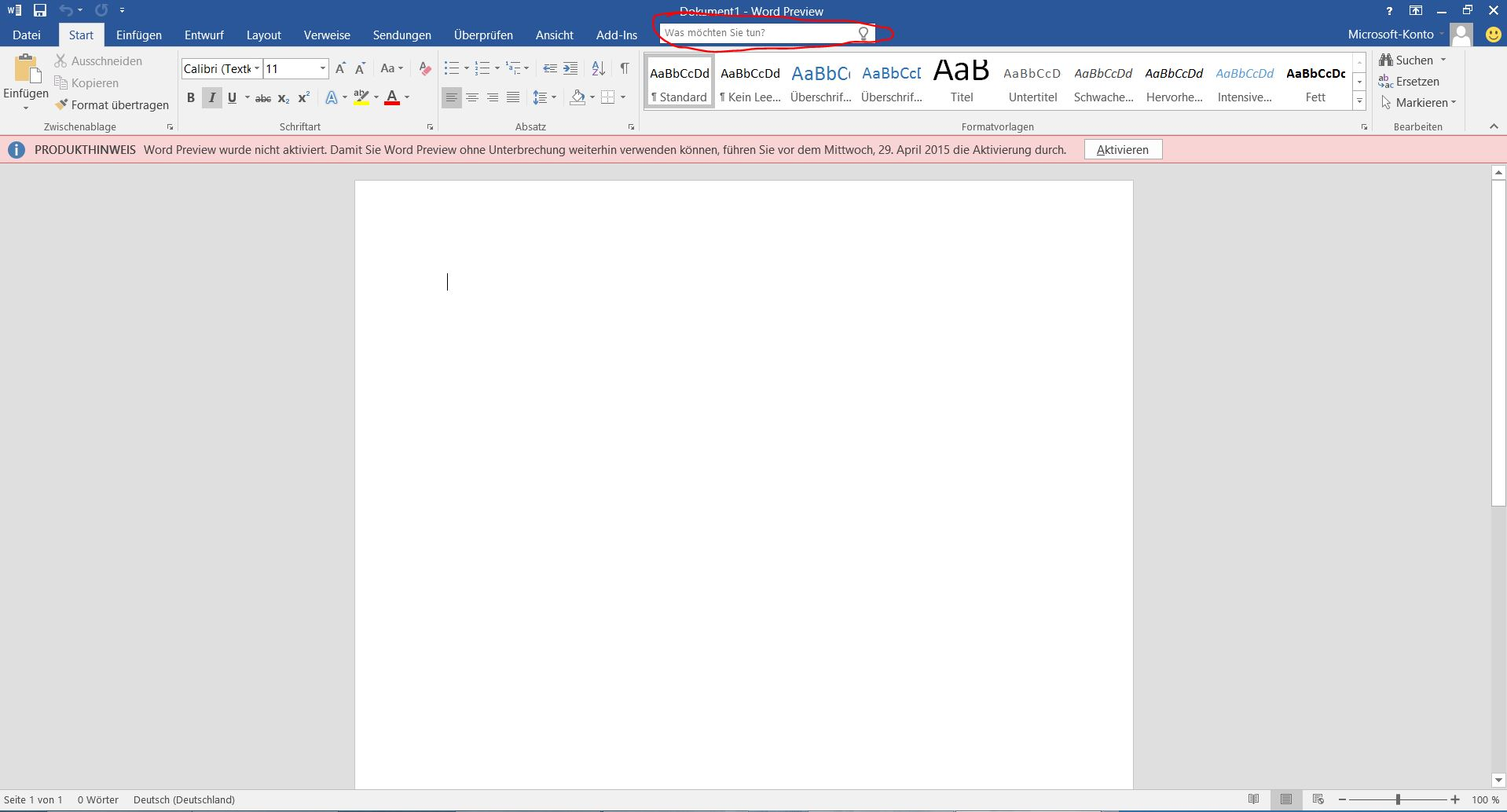 how to change page layout in outlook 2016